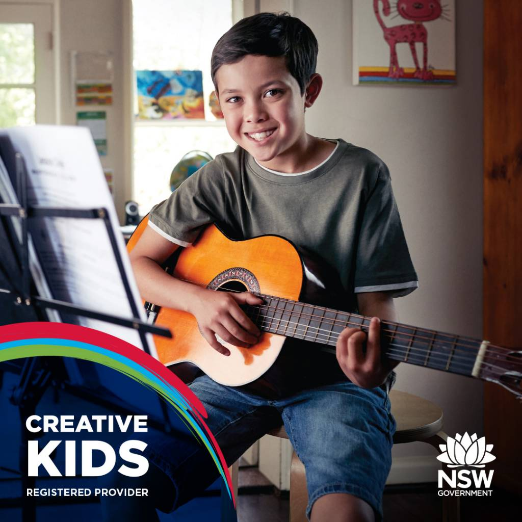 creative kids guitar lessons