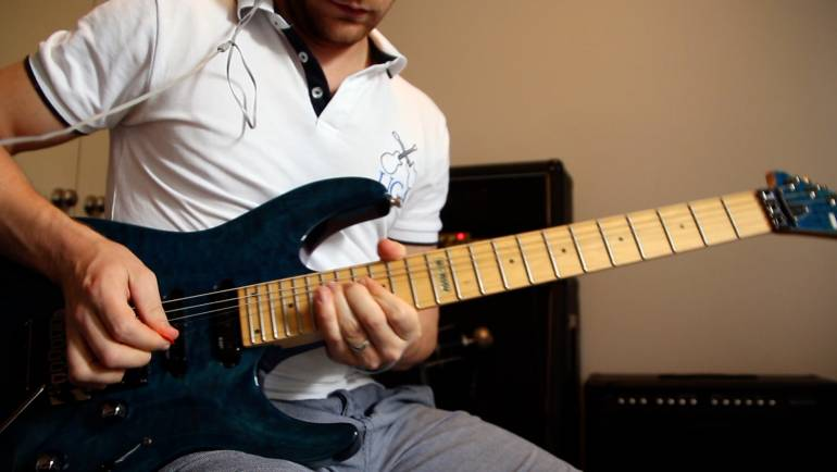 Blues – Rock Jam Warm Up Licks
